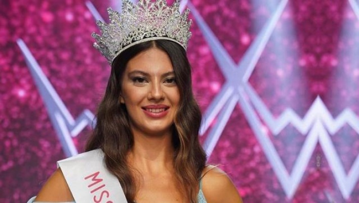 Miss Turkey 2021 güzeli Dilara Korkmaz oldu