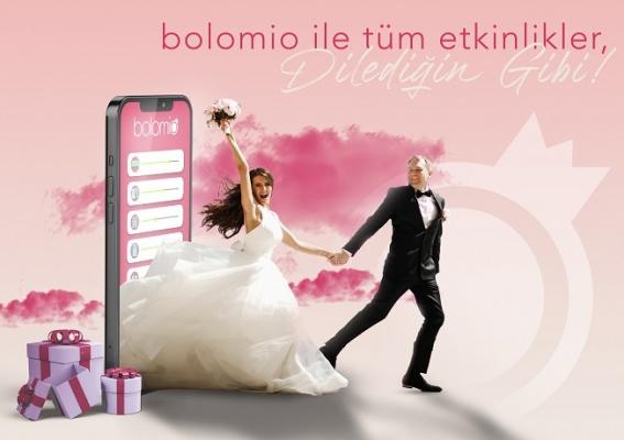 Düğünlerin dijital yardımcısı: bolomio
