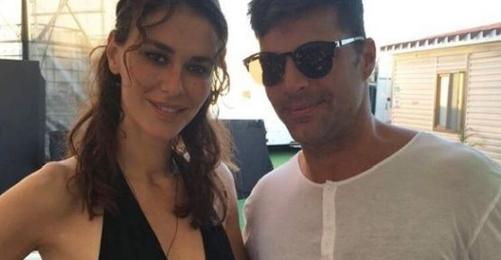 Ayşe Hatun Önal ve Ricky Martin 'Adios' ile Antalya'yı saladı!