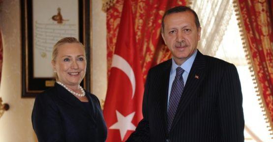 Başbakan Erdoğan, Hillary Clinton'u kabul etti