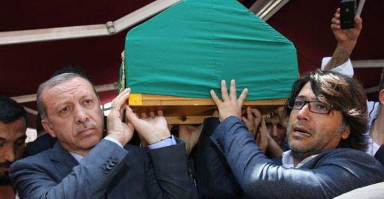 Başbakan Erdoğan Murat Göğebakan'ın cenaze törenine katıldı