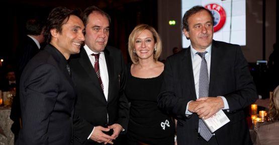 Behzat Gerçeker'e Platini'den Övgü