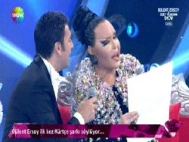 Bülent Ersoy'dan Kürtçe şarkı...