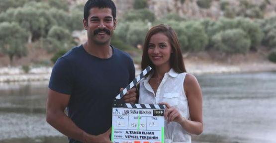 Burak Özçivit ve Fahriye Evcen'in başrolleri paylaştığı 'Aşk Sana Benzer'in çekimleri Bodrum'da başladı!