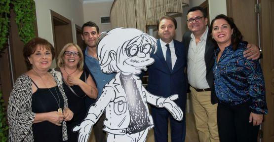 Erbulak Oyunculuk ve Yazarlık Evi'nin açılışına ünlü isimler katıldı