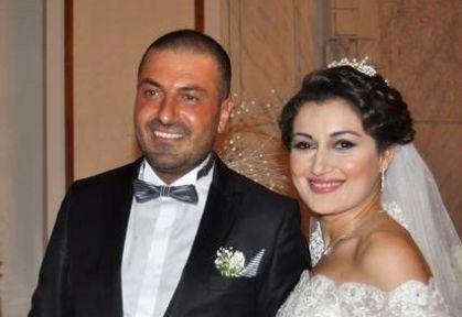 Erkin Karaman ve Günel Memmedov Çırağan Sarayı'nda evlendi