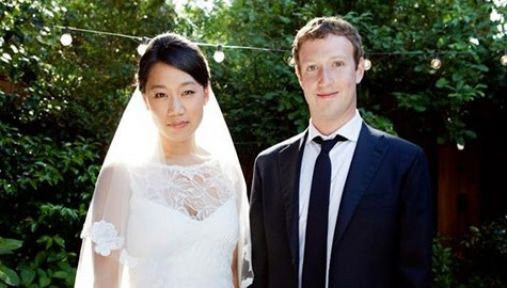 Faceook'un sahibi Mark Zuckerberg evlendi