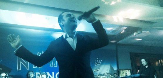 Ferhat Göçer Bulgaristan'da konser verdi