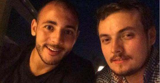 Galatasaraylı futbolcu Nordin Amrabat  Kuruçeşme'de keyif yaptı