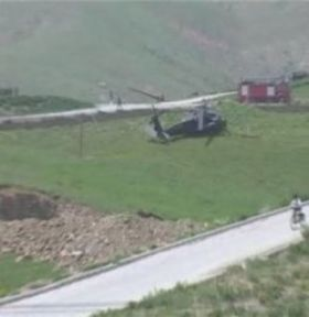 Hakkari de helikopter düştü: 5 Asker Şehit 7 Yaralı