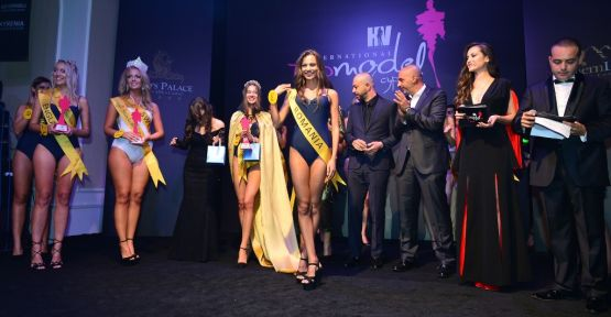 International Top Model of Cyprus yarışmasının birincisi Türk model oldu