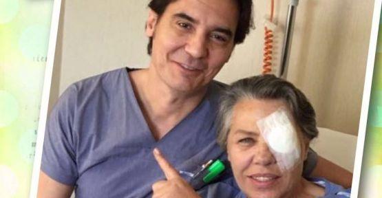 Işıl Yücesoy göz ameliyatı oldu!