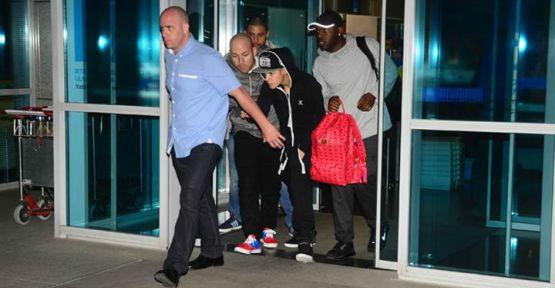 Justin Bieber, İstanbul'a geldi