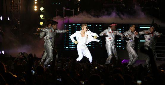 Justin Bieber İstanbul'u salladı !