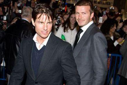 Katie, Tom Curise'u Beckham'la yatakta mı bastı?