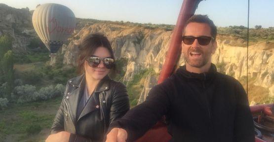 Kendall Jenner'den Kapadokya Selfiesi