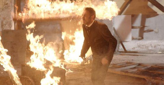 'Kertenkele' dizisinin setinde hangi ünlü oyuncu yaralandı?