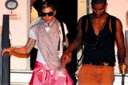 Madonna İstanbul'a geldi