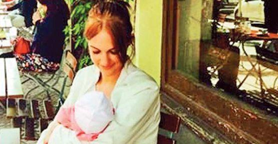 Meryem Uzerli kızı Lara'nın fotoğrafını paylaştı