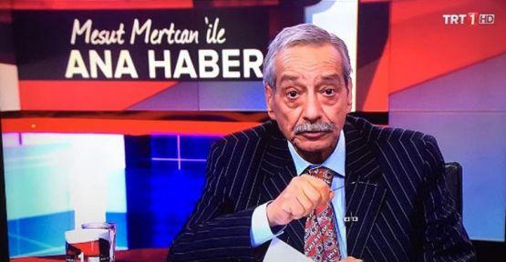 Mesut Mertcan yıllar sonra TRT'de haber sundu