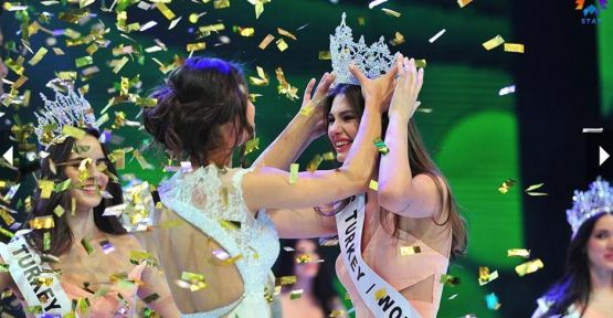 Miss Turkey 2015 Güzeli seçildi