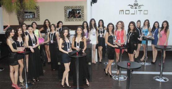Miss Turkey güzelleri doyasıya eğlendi