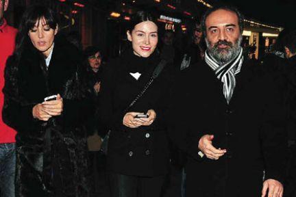 Monica Belluci'den Erdoğan çiftine jest