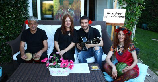 Nazan Öncel'e Çapulcu Orkestrası eşlik etti