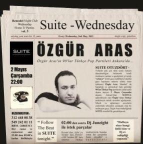 Özgür Aras 90'lar Partisini Ankara'ya taşıdı !