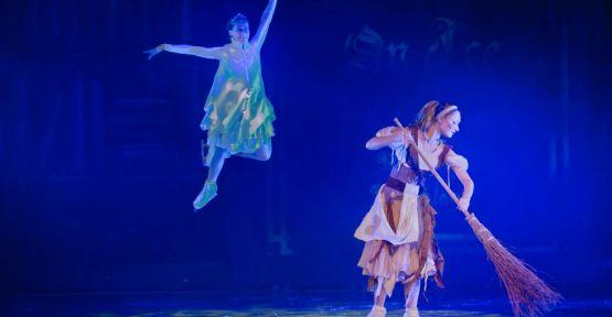 """""""Peter Pan"""" ve """"Sindirella"""" Buzda Dans gösterileriyle  çocukları unutamayacakları bir sömestre tatili bekliyor…"""