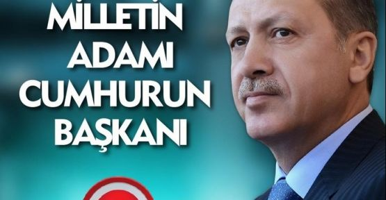Recep Tayyip Erdoğan 12. Cumhurbaşkanı seçildi