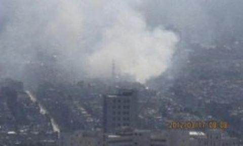 Şam'da iki ayrı büyük patlama