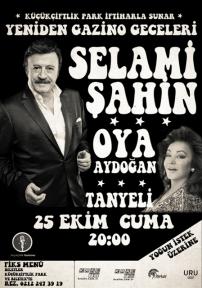 Selami Şahin ve Oya Aydoğan aynı sahnede!