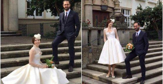 Selma Ergeç Almanya'da Can Yayınları'nın sahibi Can Öz ile evlendi!