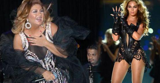 Sibel can ve Beyonce yan yana konser verdi!