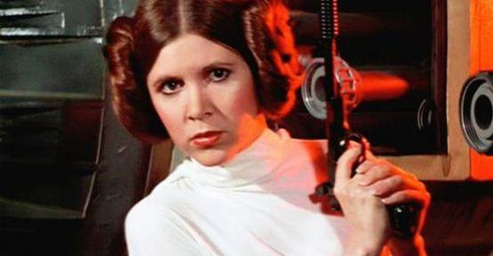 Star Wars'un 'Prenses Leia'sı Carrie Fisher hayatını kaybetti