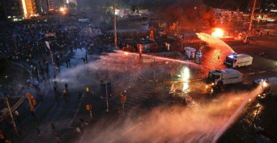 Taksim'e sert müdahale ...