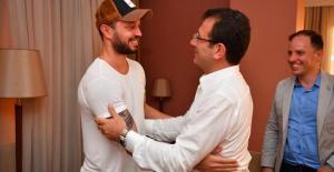 Murat Boz, İBB Başkanı Ekrem İmamoğlu'nu ziyaret etti