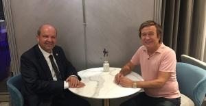 Erol Evgin'e başbakan ziyareti