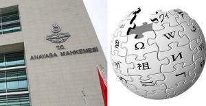 Anayasa Mahkemesi Wikipedia yasağının kaldırılmasını istedi