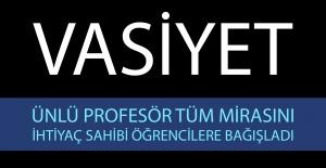 Prof. Dr. Kerim AYDOĞDU Vasiyet Mektubu'nu İnstagram'dan açıkladı