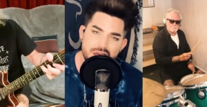 Queen + Adam Lambert'tan yeni kayıt: 'You Are The Champions'