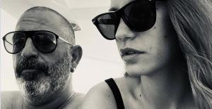 Serenay Sarıkaya'dan Cem Yılmaz'lı tatil fotoğrafı
