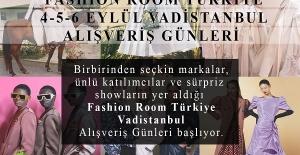'FASHION ROOM TÜRKİYE ALIŞVERİŞ GÜNLERİ' BAŞLIYOR
