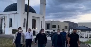 Nusret Gökçe Erzurum'da külliye yaptırdı
