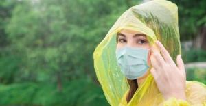 Maske yağmurla ıslandığında koruyuculuğu kayboluyor!