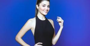 Hande Erçel diş macunu reklamında oynadı