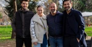 Sol Yanım dizisinin oyuncuları Yeni Yıl'ı sette karşıladı