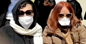 Türkan Şoray Müjde Ar'ı acı gününde yalnız bırakmadı