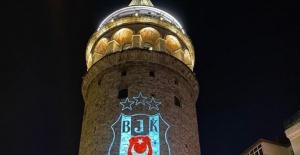 Beşiktaş Şampiyonluğu Galata Kulesine yansıdı